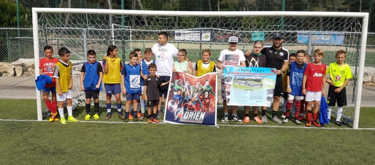 U13 FC MOUGINS - ASSOCIATION ADRIEN